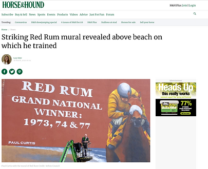 Horse and Hound, Red Rum article