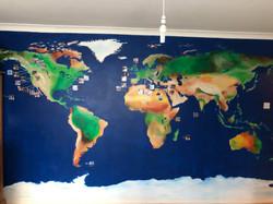 World mural