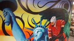 Statue of Liberty Paul Curtis Artwork Mu