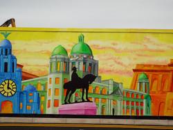 Port of Liverpool Mural