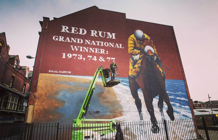Paul Curtis- Red Rum- grand national