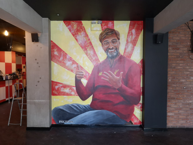 Jurgen Klopp Mural