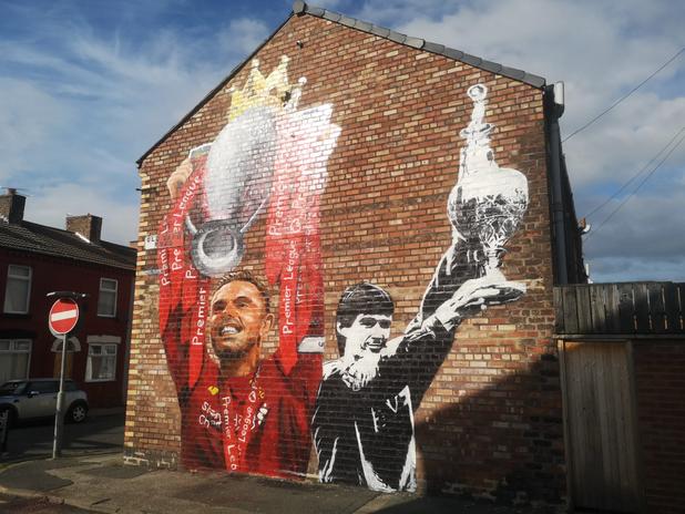 Jordan Henderson mural, Paul Curtis