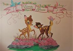 Disney Bambi Boyfriend Mural