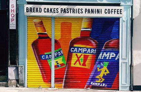 Campari street art Paul Curtis