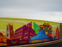 Cains Brewery Mural