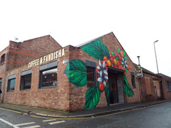 Coffee & Fandisha, Plant Mural