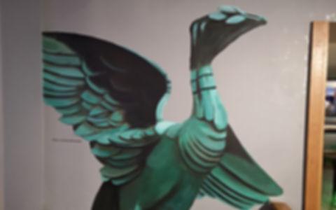 Liver Bird Mural by Paul Curtis at Harri