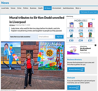 Shropshire star Ken Dodd