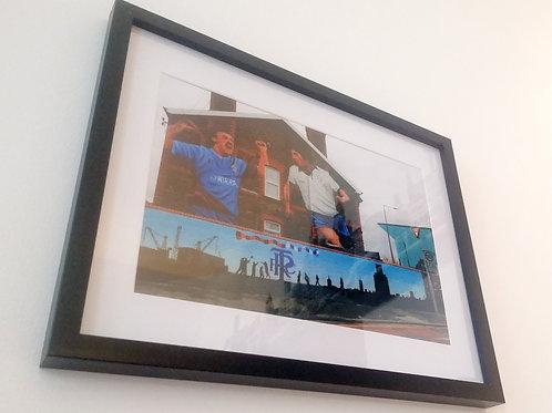 TRFC Ray Mathias and Ian Muir Print