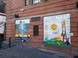 Ken Dodd mural, Paul Curtis