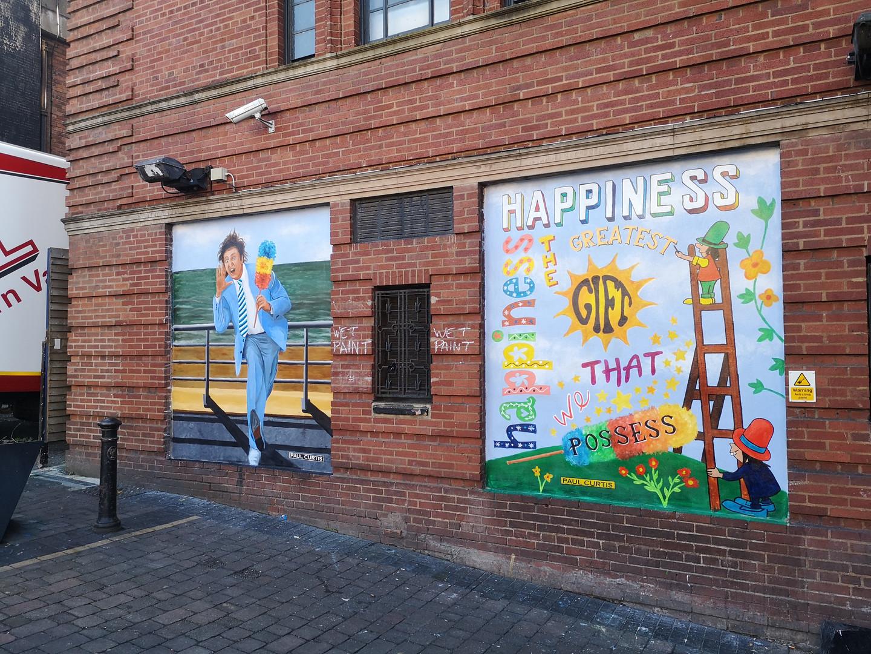 Ken Dodd mural, Paul Curtis