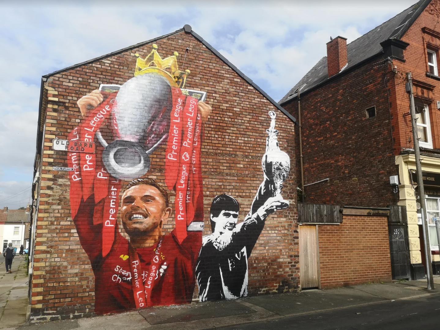 Henderson mural Paul Curtis