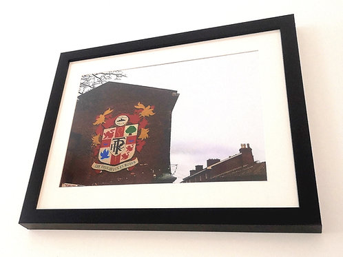 Tranmere Rovers Oxton Badge Print A