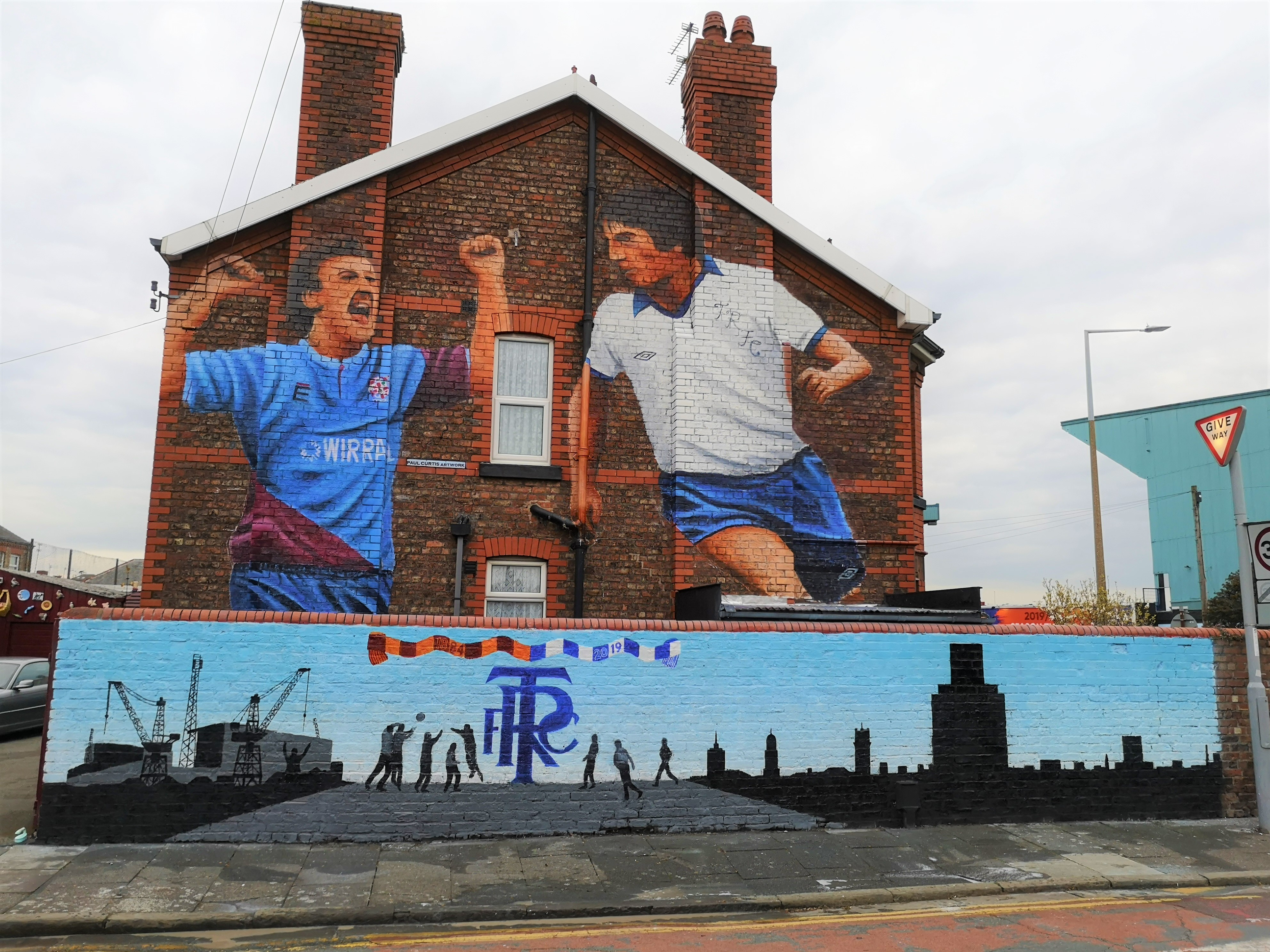 Tranmere Rovers Mural
