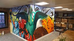Liver Bird World Mural