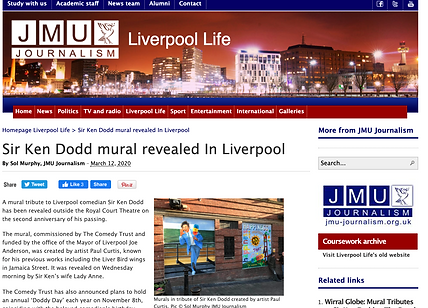 JMU report Ken Dodd