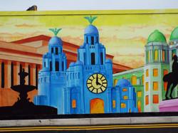 Liver Building Mural