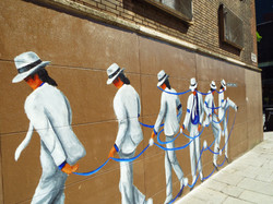 Moonwalker Mural