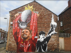 Hendo mural Paul Curtis