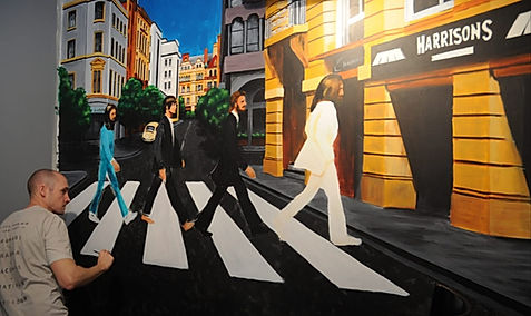 Paul Curtis Artwork The Beatles