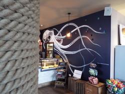 Octopus Kraken Mural Wall Art