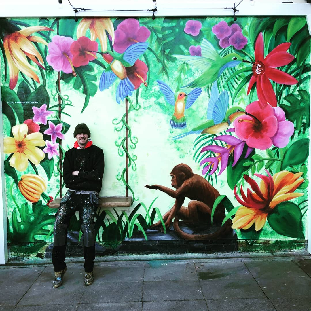 Paul Curtis (Artist, Liverpool, UK)