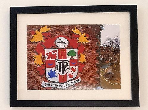 Tranmere Rovers Oxton Badge Print B