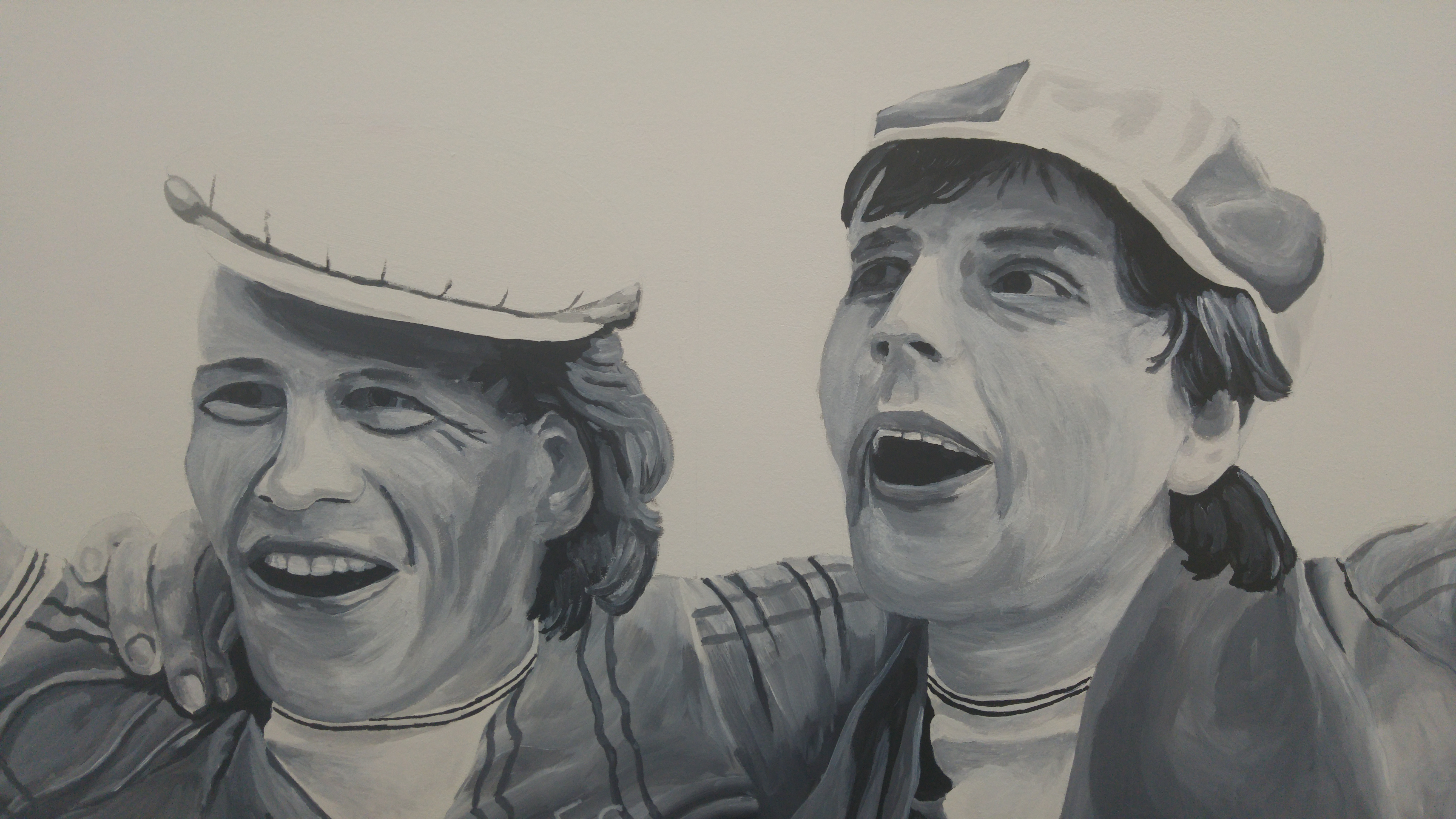 Everton Graeme Sharp Andy Gray Mural