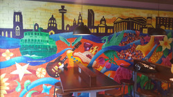Taco Bell Liverpool Mural