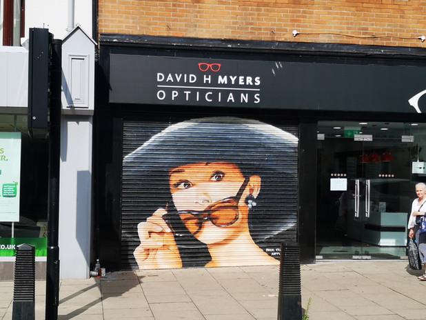 Paul Curtis, Hepburn Mural, Liverpool