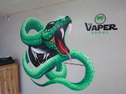 Viper Mural