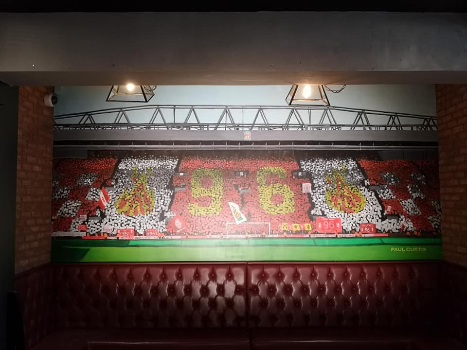 Kop mural- Paul Curtis- Liverpool