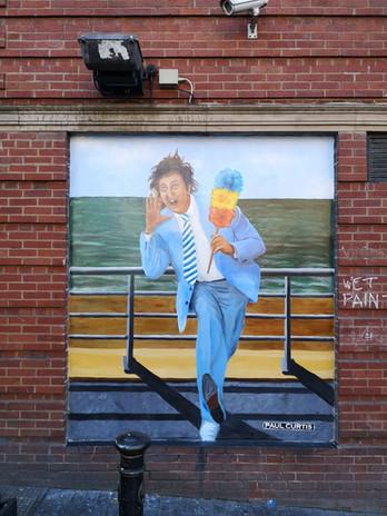 Ken Dodd mural