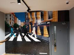 Paul Curtis Artwork Abbey Road