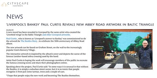 Cityscape- Paul Curtis- Abbey Road