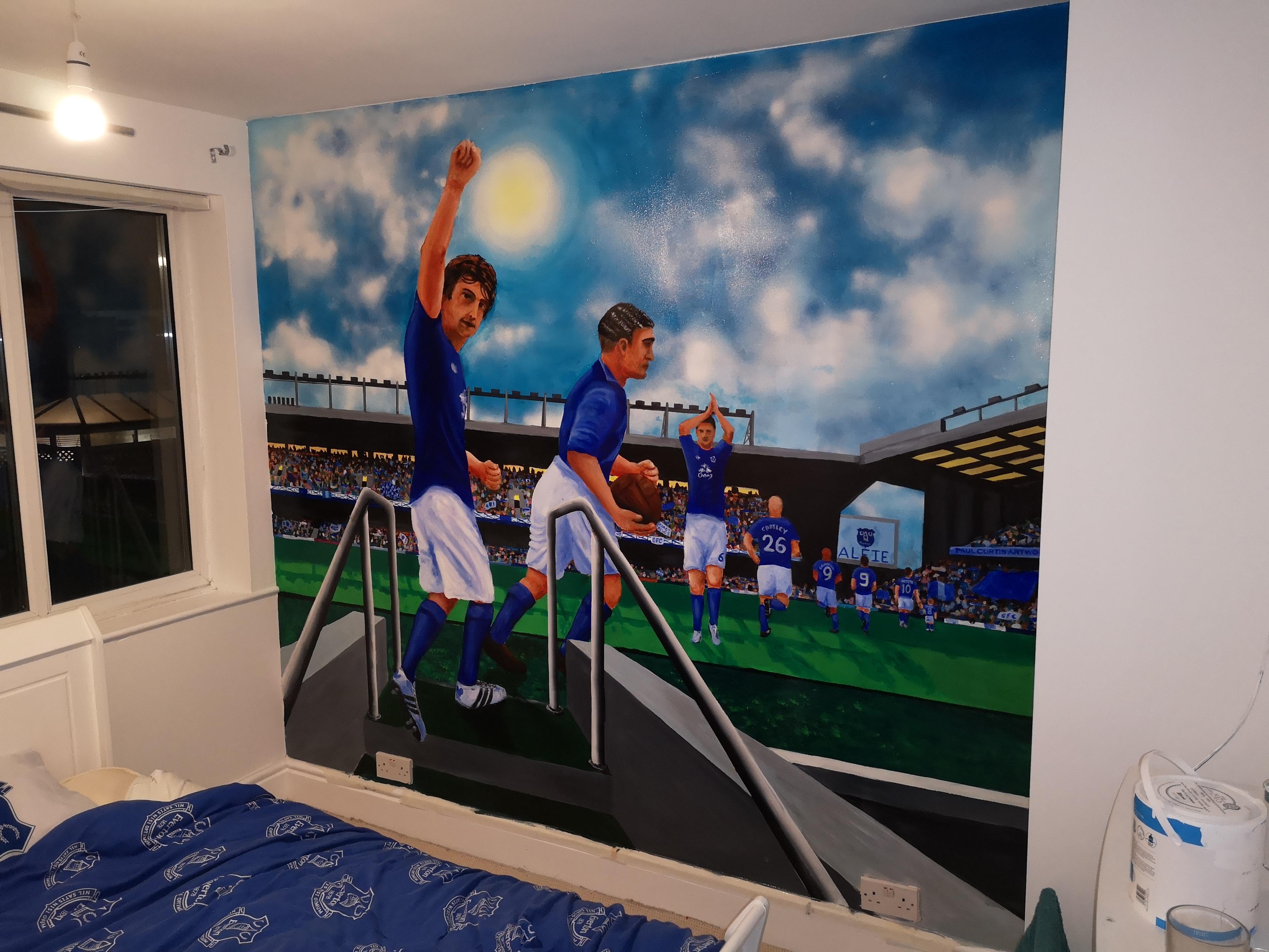 Everton Mural