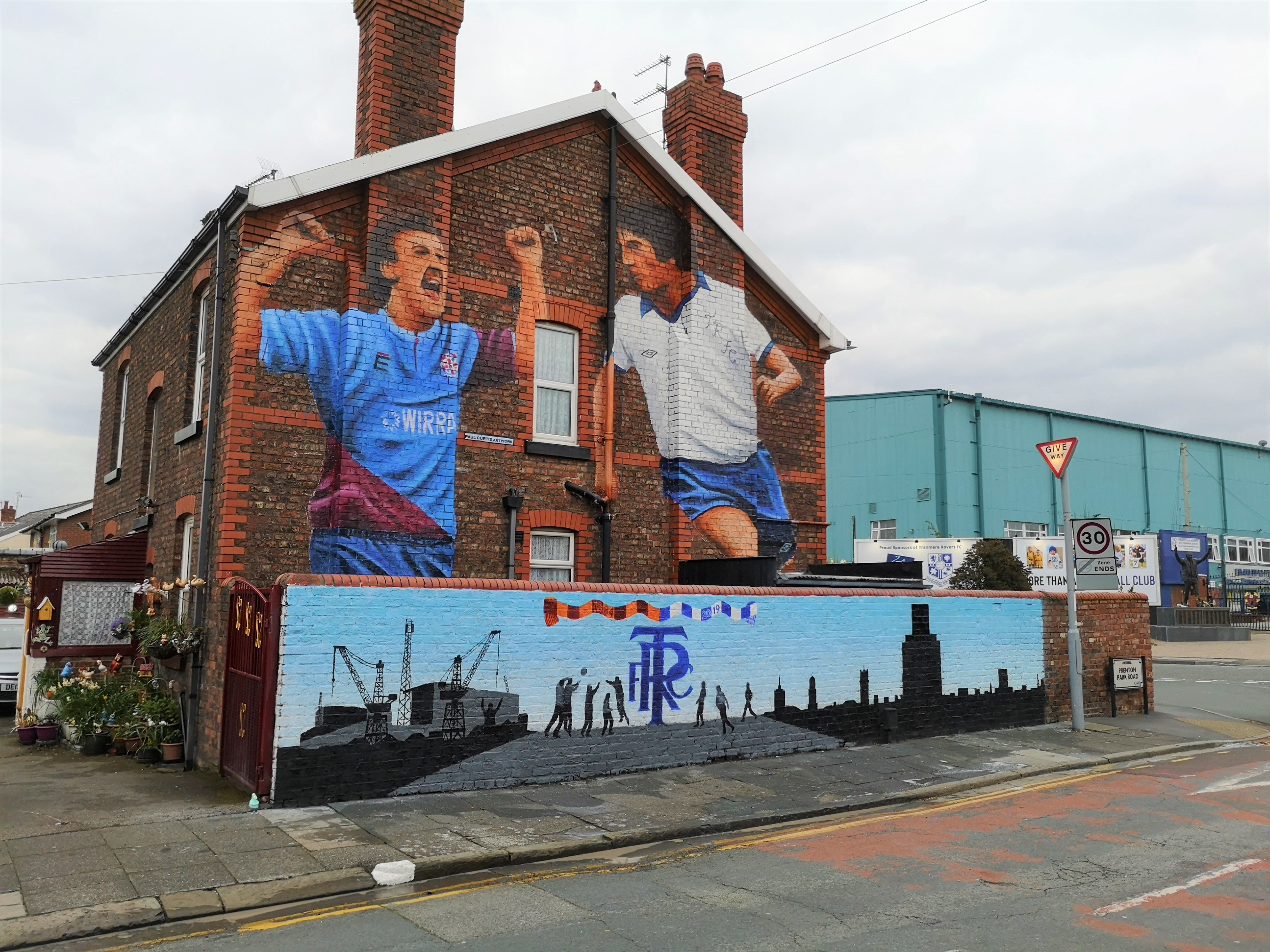 Tranmere Rovers Painting