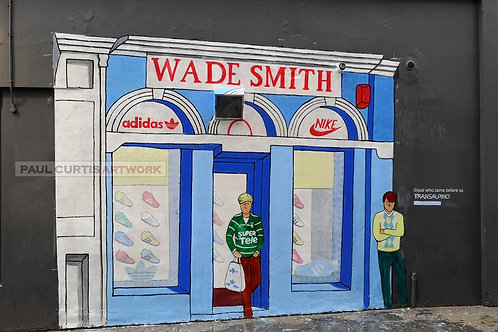 Wade Smith Mural. Print.