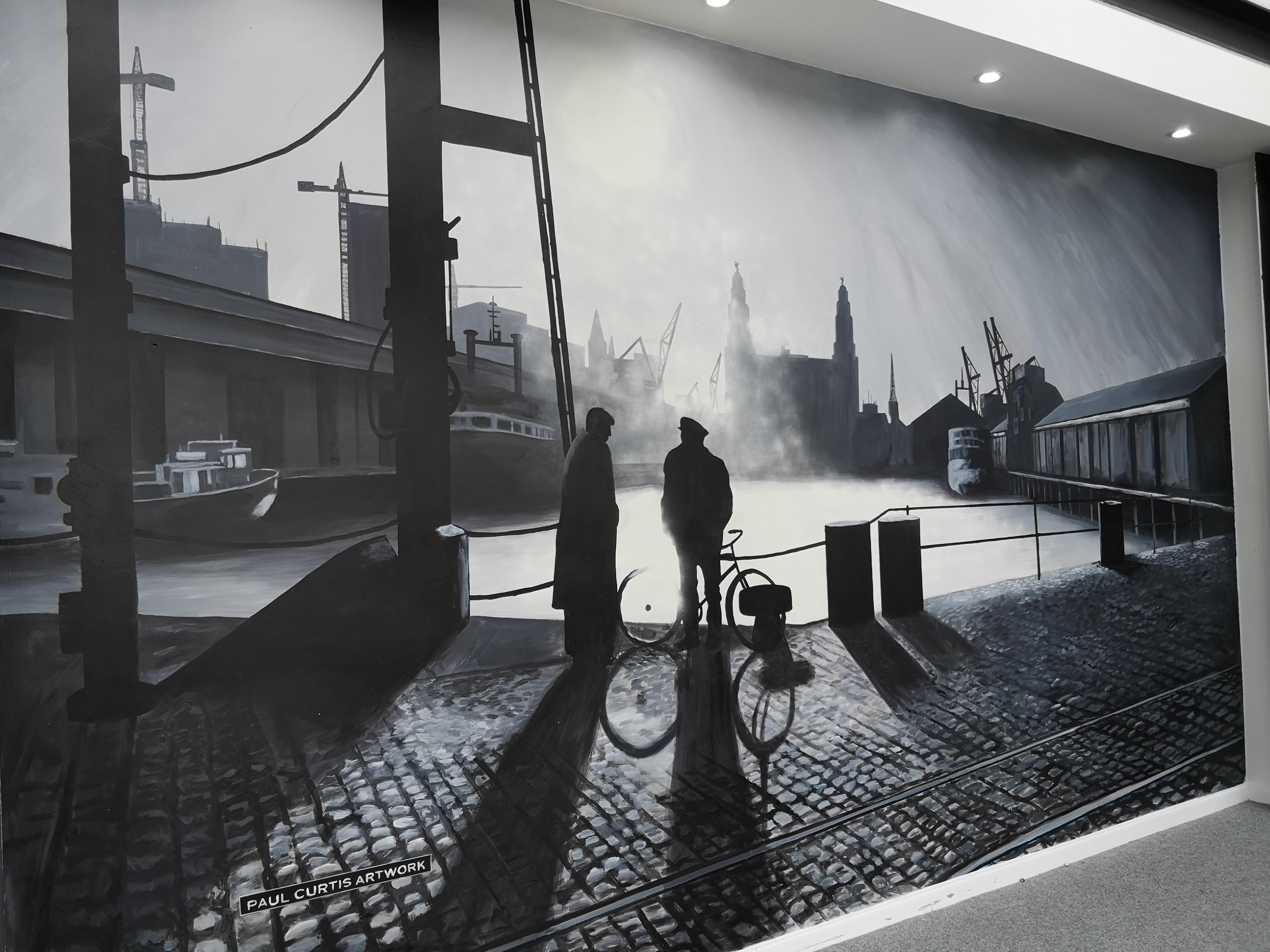 Dockers Mural