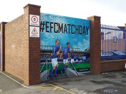Everton FC at Goodison