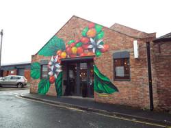 Coffee Plant Mural, Liverpool