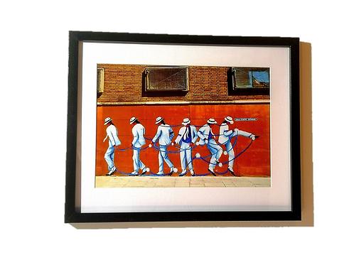 Michael Jackson Moonwalker - Flat Print