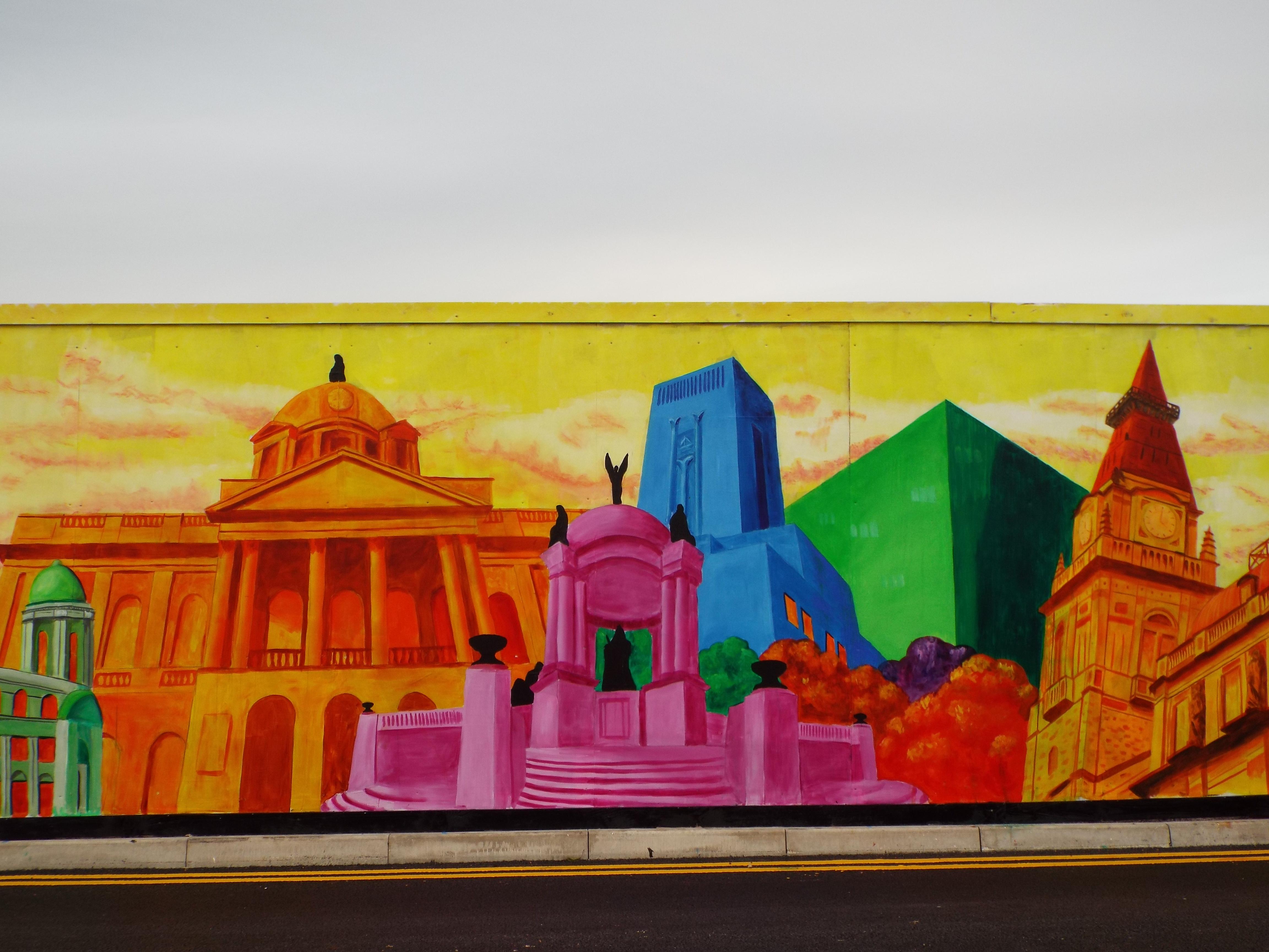 Liverpool Landmark's Mural Town Hall