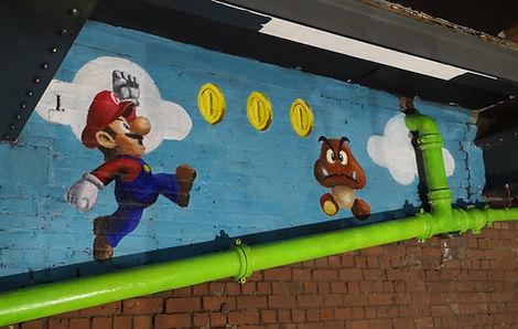Super Mario and Goomba