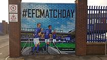 Everton Mural by Paul Curtis Artwork