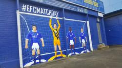 Goodison Park Everton Mural