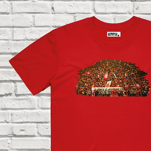 """""""Celebrating with The Kop"""" T-shirt"""