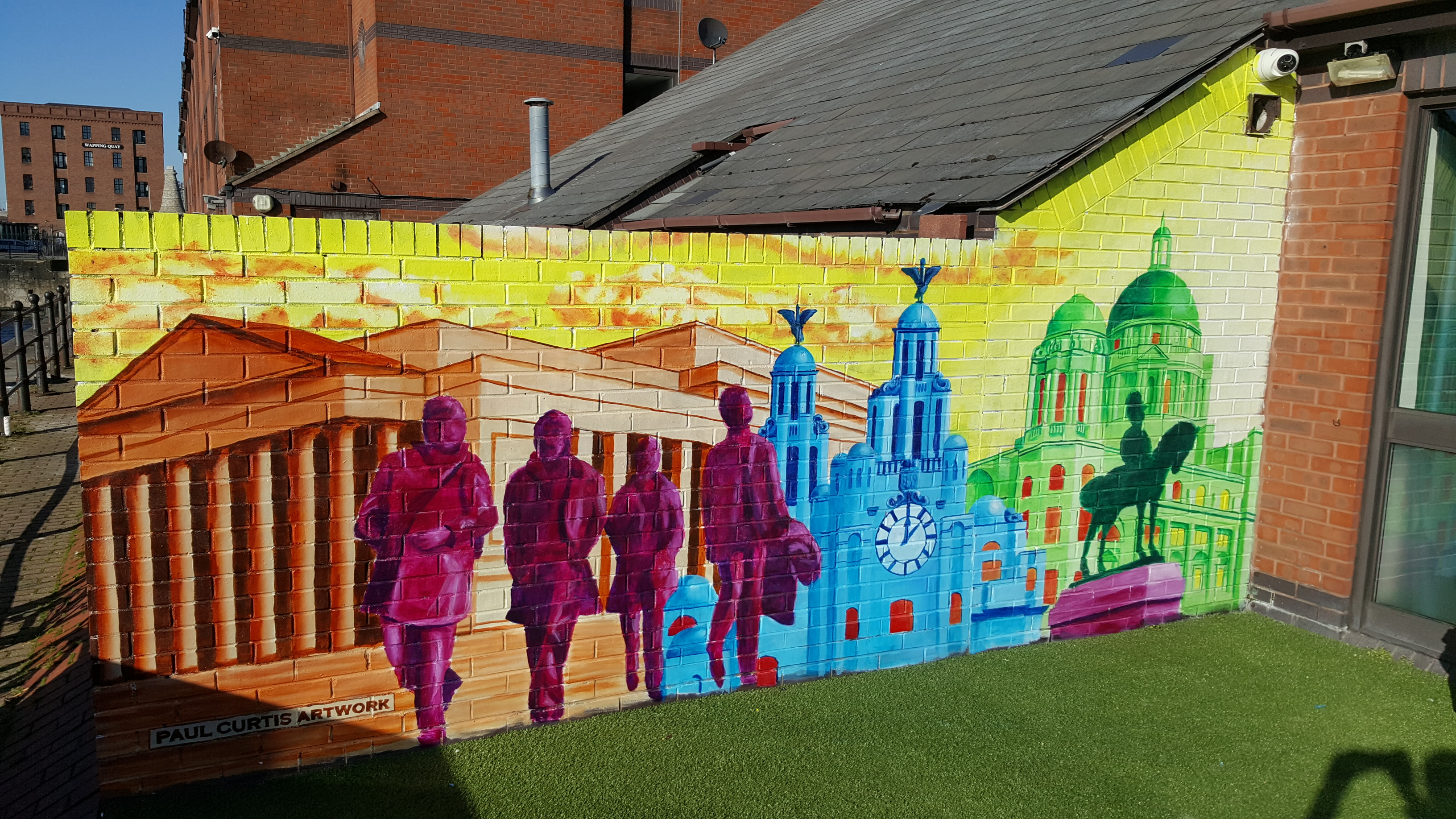 St Georges Hall Mural