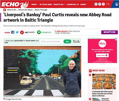 Liverpool Echo- Paul Curtis- Abbey Road-